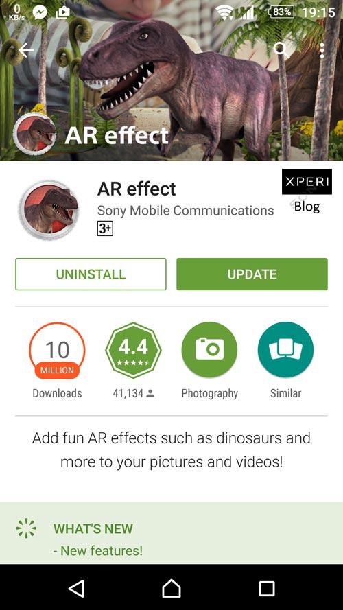 AR Effect 4.0.8