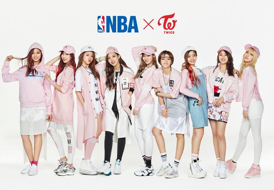 Wallpaper Girl Band Korea Twice In Nba Style Daily K Pop News