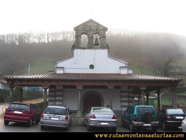 Pico Ranero: Iglesia de Carabanzo