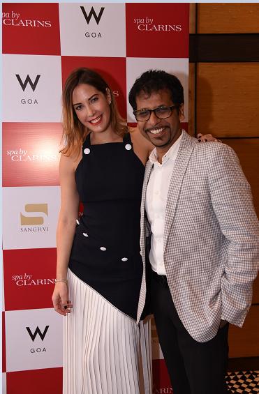 L-R - Ms.Prisca Clarins & Mr.Darpan Sanghvi