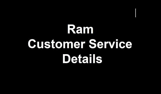 Ram Customer Service Number