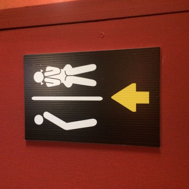 20+ Of The Most Creative Bathroom Signs Ever - Found This In Thailand