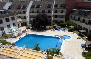 Piscina del Hotel Antequera Golf.
