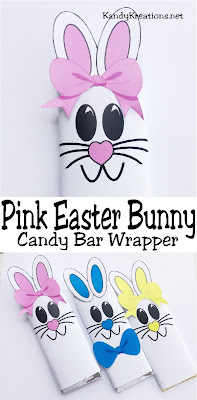 Give some one special a sweet Easter bunny candy bar in their Easter basket. This candy bar printable is free during the month of April 2017 to newsletter subscribers to KandyKreations. Stop by and get your free Easter printable today.