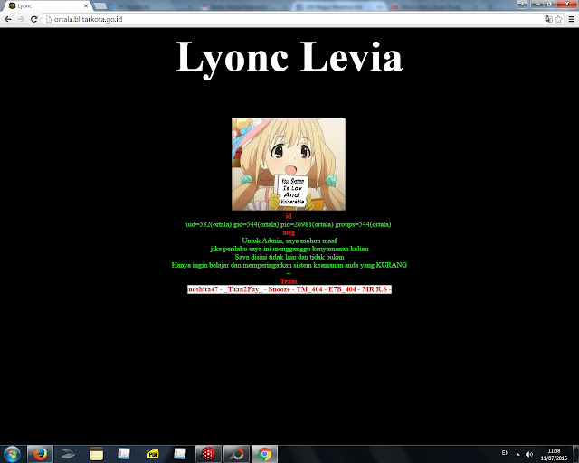 Waduh !! Website Resmi Blitar dan Puluhan Subdomainnya Kena Sabun Massal