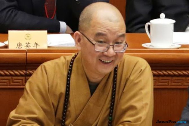 Biksu Top Tiongkok Paksa Biarawati Ngeseks Akhirnya Dipecat