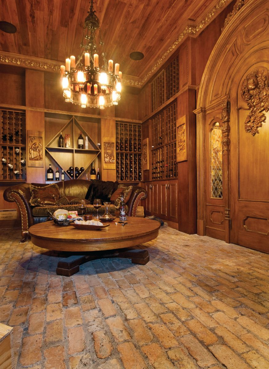 Wood Paneled Office: Old World, Gothic, And Victorian Interior Design
