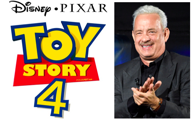 Tom Hanks Is Back In The Recording Booth For Toy Story 4 Pixar Post