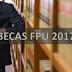 Convocatoria para 850 becas FPU 2016/2017 | Información para su presentación