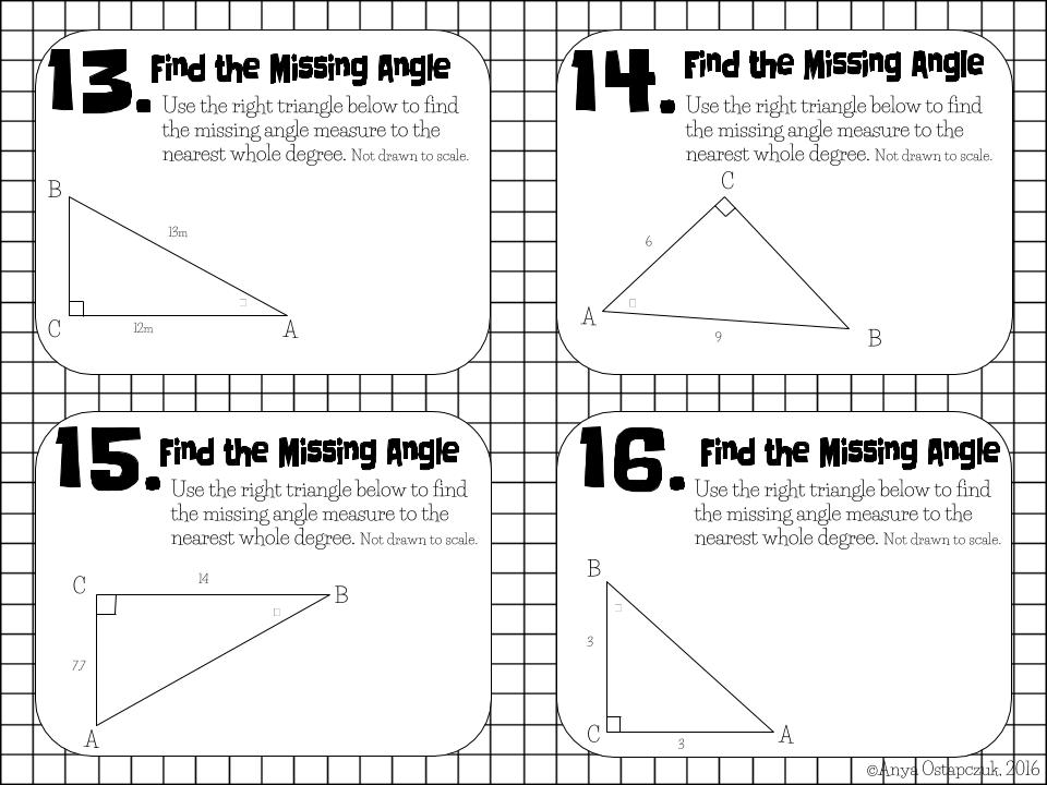 Teaching in Special Education: Trigonometry Task Cards