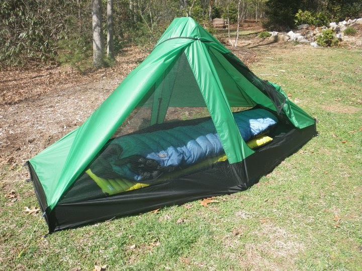 LIGHT & ULTRALIGHT BACKPACKING: TALL GUY TENT - SoLong 6