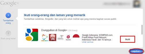 Cara Mengaktifkan Akun Google+ (Google Plus)
