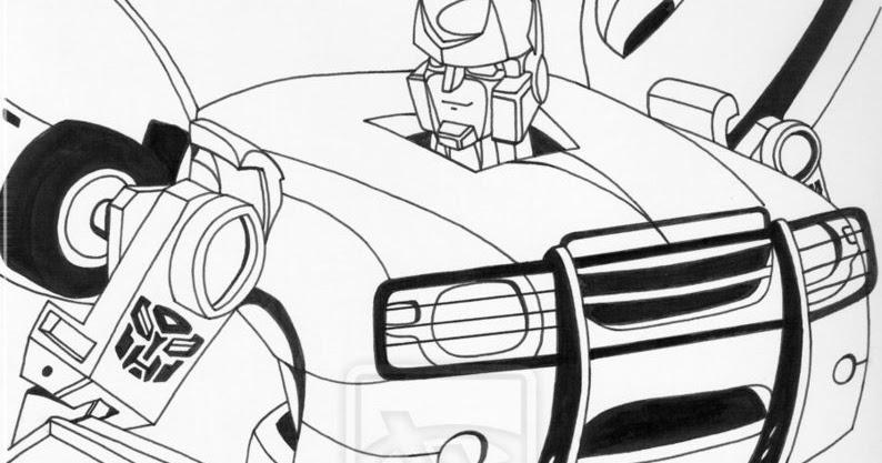Transformers Para Colorear Dibujos Para Colorear