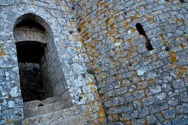 Entrada del castillo de Peyrepertuse