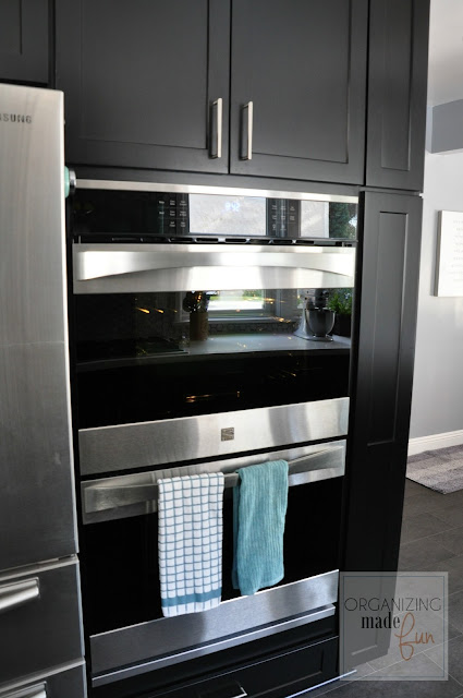 Double convection, double self-cleaning oven :: OrganizingMadeFun.com