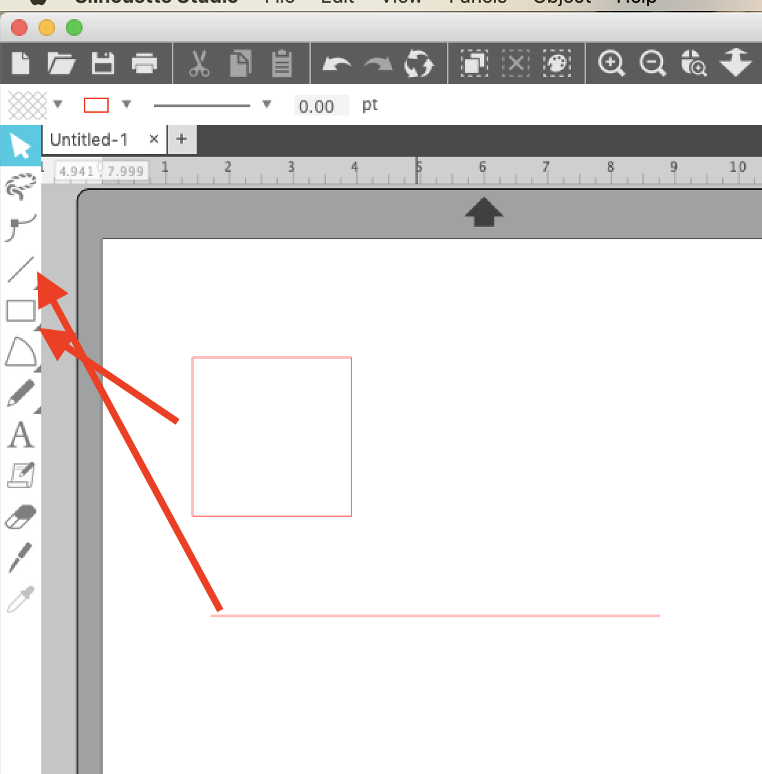 How To Draw A Perfect Circle Square Or Straight Line In