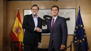 Mariano Rajoy, Albert Rivera, gobierno, elecciones, España