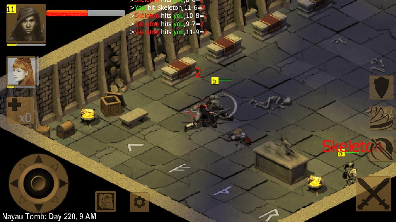 Exiled Kingdoms RPG APK MOD Dinheiro Infinito / Mega Mod 2021 v 1.3.1167
