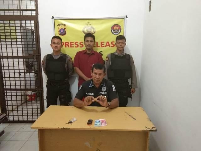 Ayah 3 Anak Ditangkap Bawa Sabu