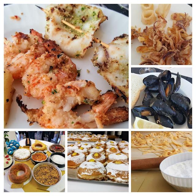 Cosa abbiamo mangiato all'hotel San Salvador di Igea Marina