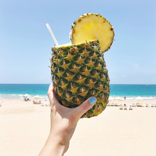 Condado Beach Pina Colada - Kelsey Social
