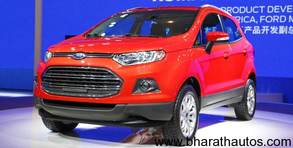 auto world ford revealed production version ecosport at. Black Bedroom Furniture Sets. Home Design Ideas