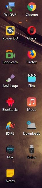 Hidden Symbol Shortcut Windows