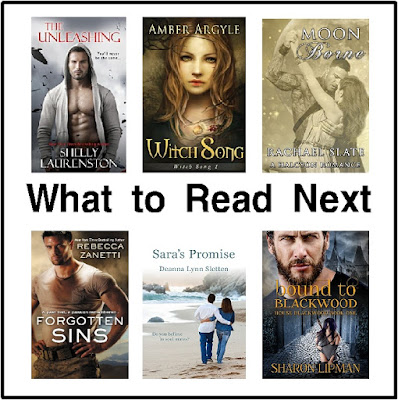 "Here are some new books I've added to my ""To Be Read"" list.  There's lots of romance, paranormal, and fighting in here so beware if you love to curl up on the couch in the fall with a good book and a cup of hot chocolate."