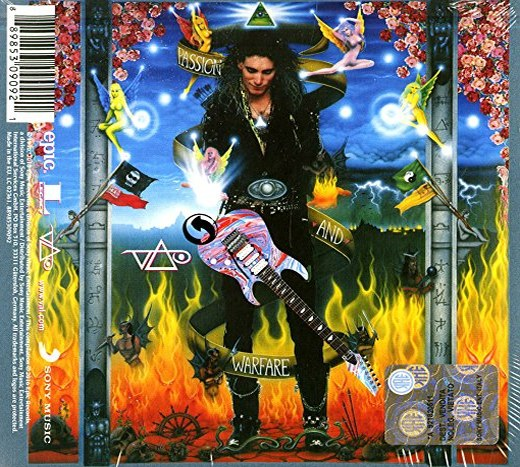STEVE VAI - Passion And Warfare [Remastered 25th Anniversary Edition] (2016) back