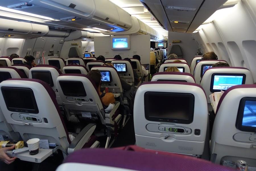 カタール航空 QR139