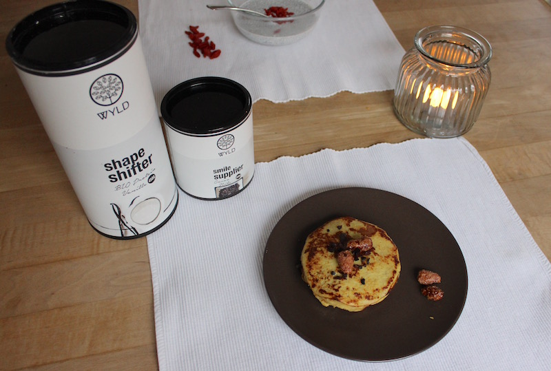 3 easy protein breakfast ideas WYLD protein pancakes banana egg