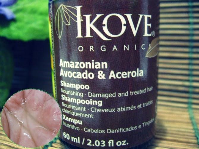 shampoo orgânico Ikove