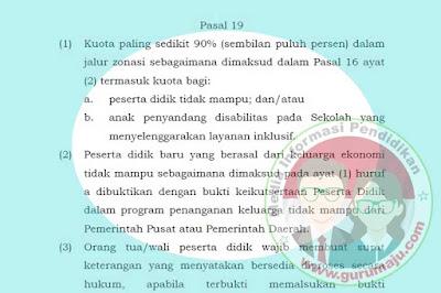 PPDB 2019, Jalur SKTM Resmi Dihapus