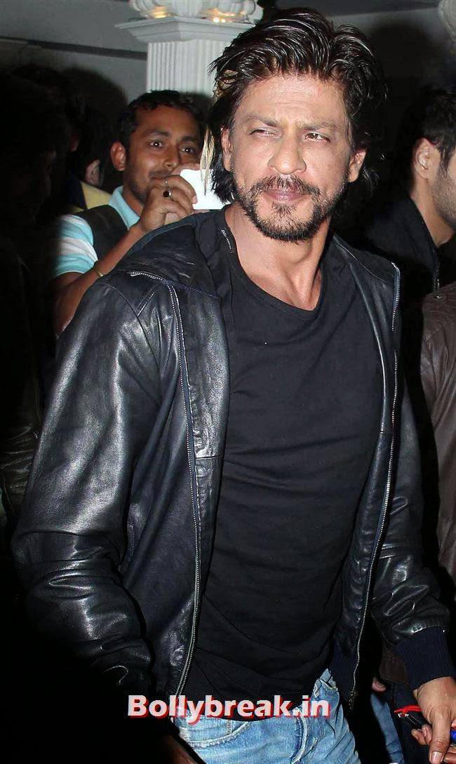 Shahrukh Khan, Shahrukh, Shahid, Ekta at a Bar Launch
