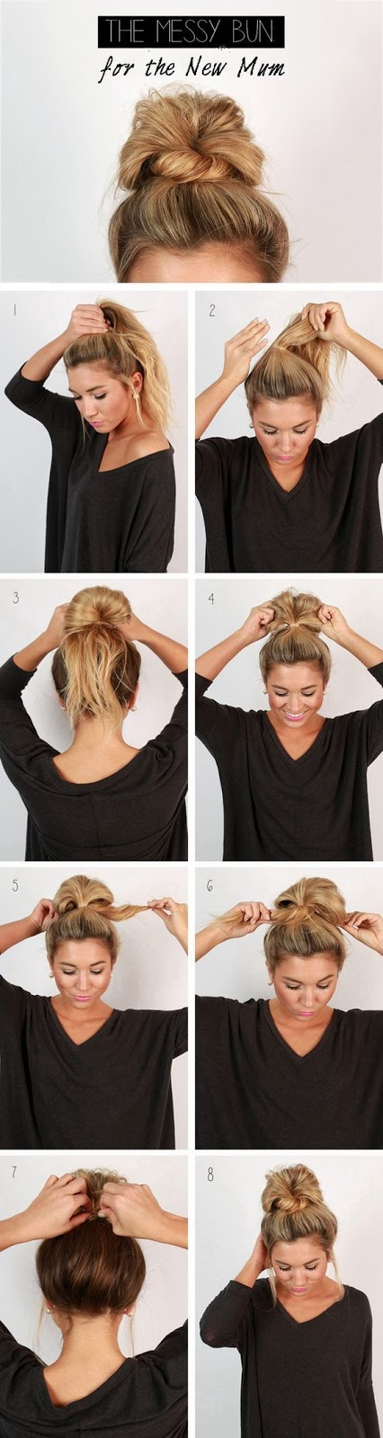 Hairstyles You Can Make in Less Than 2 Mins