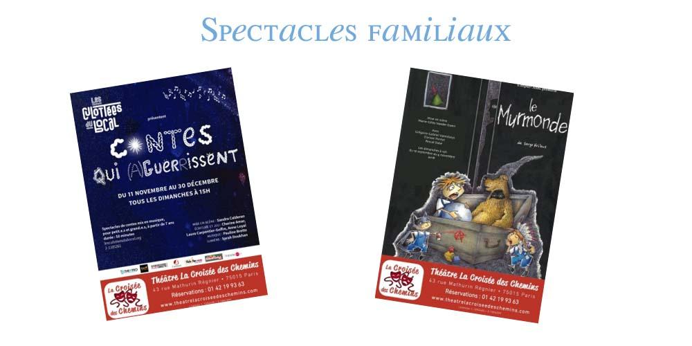 spectacles familiaux parisiens