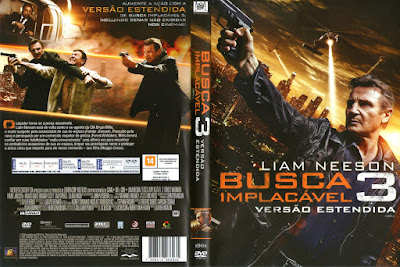 Filme Busca Implacável 3 (Taken 3) DVD Capa
