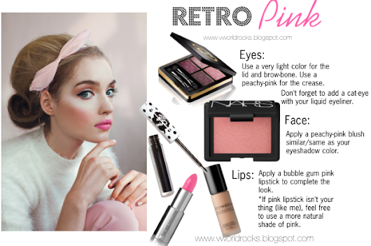 Retro Pink: A Makeup Look
