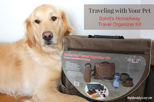 pet travel, organize pet products, Solvit HomeAway Travel Organizer Kit Review