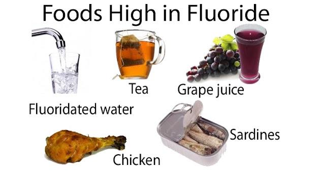 أهم مصادر الفلورايد الطبيعية