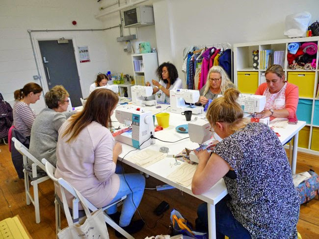 sewing workshops London