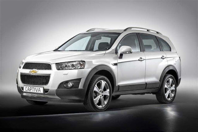All New Chevrolet Captiva 2014 Indonesia