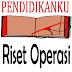 Pengertian Riset Operasi Dan Definisi Riset Operasi