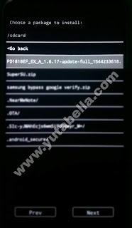 Firmware Vivo Y17
