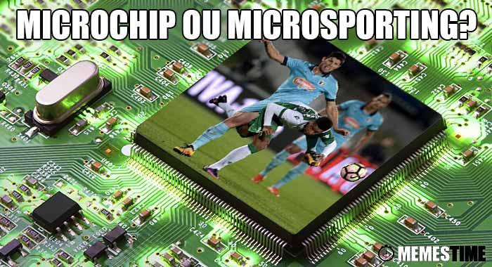 GIF Memes Time… da bola que rola e faz rir - 3ª Eliminatória da Taça de Portugal: Famalicão 0 – 1 Sporting, mais um pouquinho e tínhamos dia de taça em Famalicão by MemesTime.com – Microchip ou Microsporting?