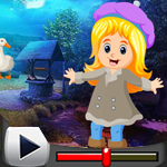 G4K Cute Girl Escape From Forest House Game Walkthrough