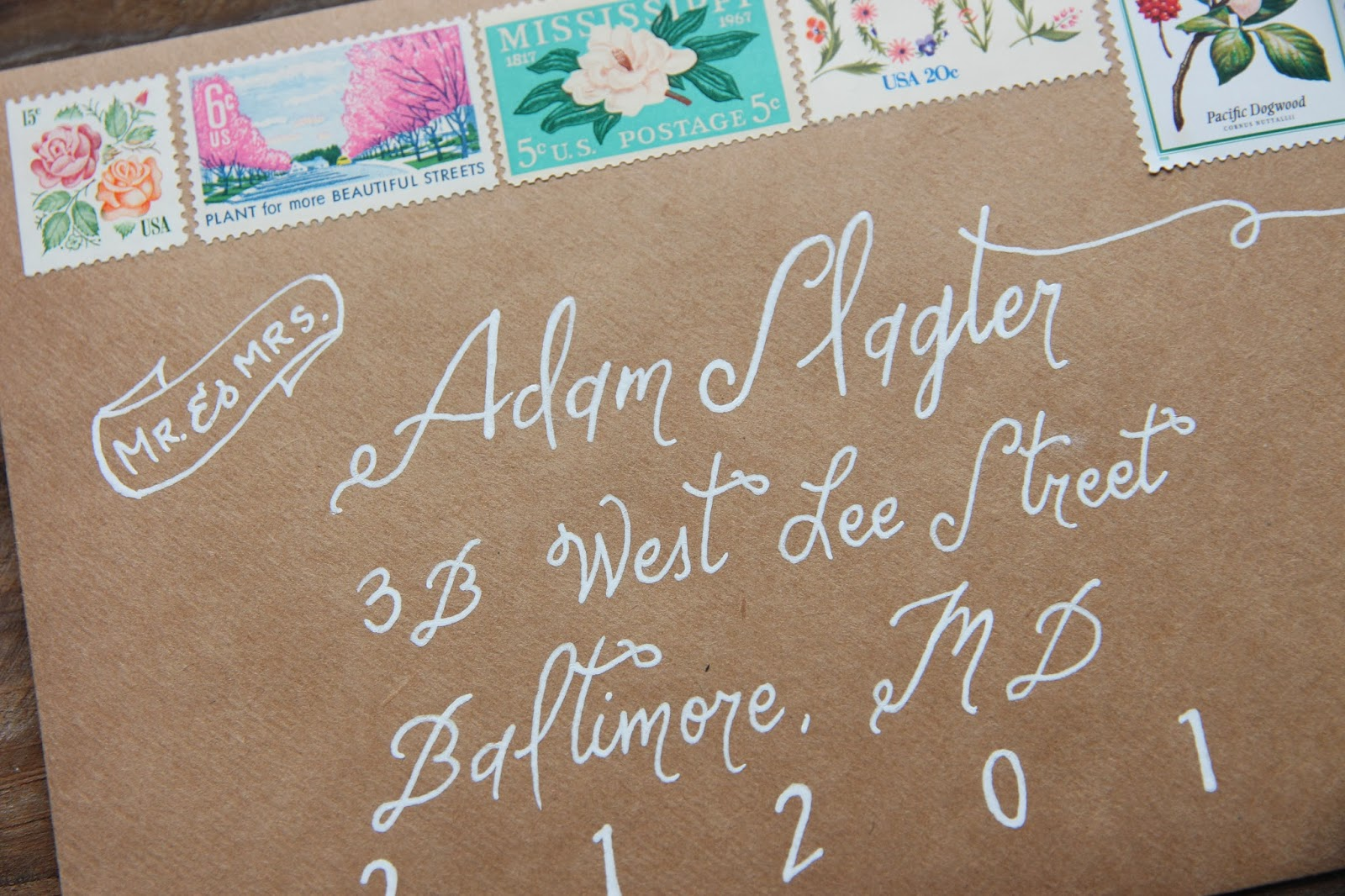 High Quality ... Gingersnaps Wedding Invitations Vintage Stamps
