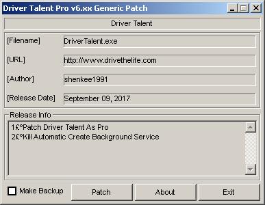 télécharger Driver Talent Pro 6.5.58.168 Patch