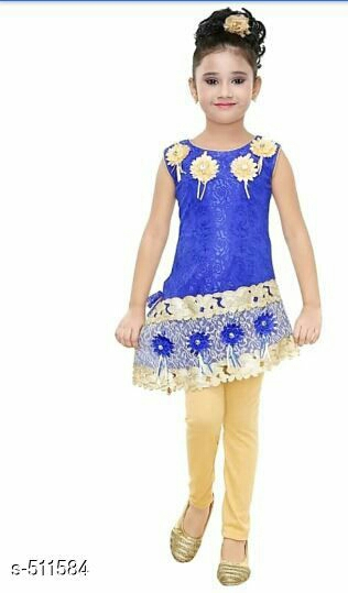 Stylish Girl's Partywear Frock