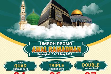 Paket Umroh Awal Ramadhan 9 Hari